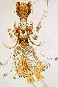 The Firebird, Costume Design for Stravinsky's Ballet the Firebird, 1910 by Leon Bakst