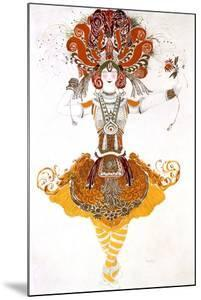 The Firebird, Costume Design for Tamara Karsavina in Stravinsky's Ballet the Firebird, 1910 by Leon Bakst