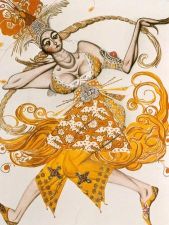 The Firebird, Costume for the Firebird, the Ballet by Lgor Stravinsky, 1910