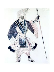 The High Priest' (Le Grand Prêtr), Ballet Costume Design, 1911 by Leon Bakst