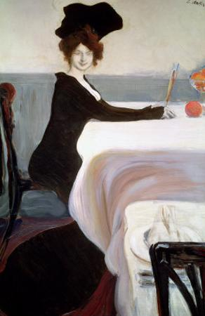 The Luncheon by Leon Bakst