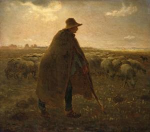 The Shepherd, Circa 1858-1862 by Leon Bakst