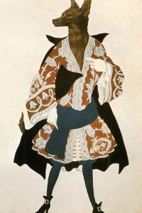 The Sleeping Beauty Wolf, 1921 by Leon Bakst