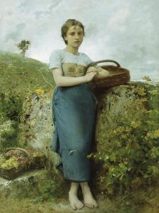 The Grape Picker, 1895 by Leon Bazile Perrault
