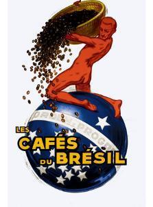 Cafe du Bresil by Leon D'ylen