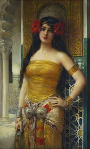 The Favourite of the Harem by Leon Francois Comerre