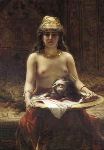 Salome, 1889 by Leon Herbo