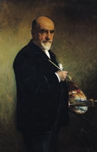 Self Portrait by Leon Joseph Florentin Bonnat