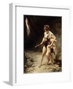 Deux Meres (Two Mothers), 1888 by Leon-Maxime Faivre