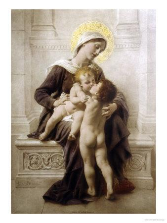 The Madonna and Child with St. John