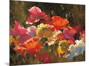 Poppies in Sunshine by Leon Roulette