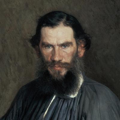 Leon Tolstoy-Ivan Nikolaevic Kramskol-Art Print