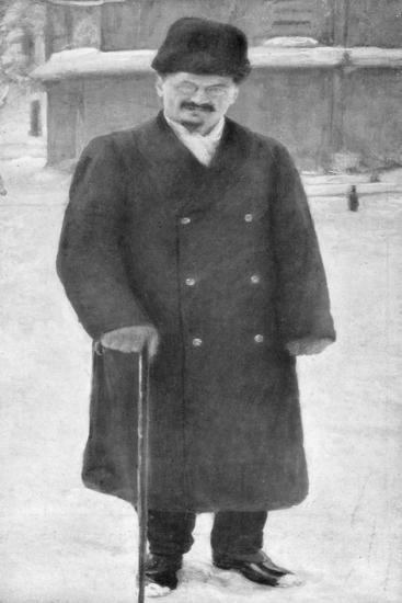 Leon Trotsky at Brest-Litovsk, 7th January 1918--Giclee Print