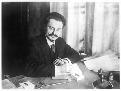 Leon Trotsky Russian Statesman, at Brest- Litovsk 1918--Photographic Print