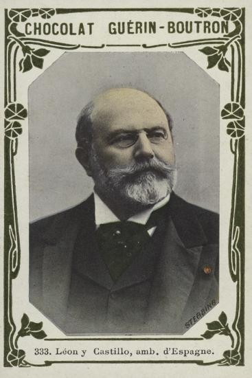 Leon Y Castillo, Ambassadeur D'Espagne--Giclee Print