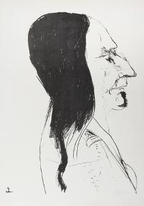Sitting Bull by Leonard Baskin