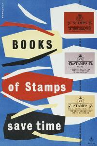 Books of Stamps Save Time by Leonard Beamont