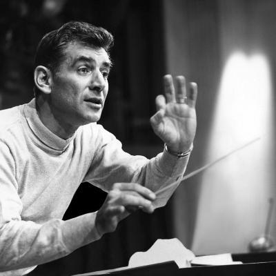 Leonard Bernstein, 1960--Photo