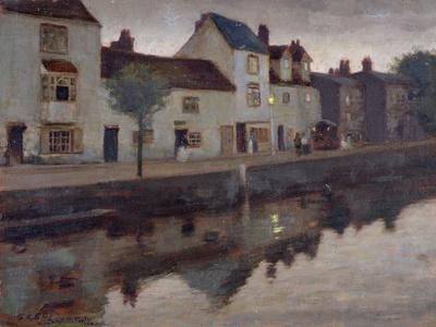 Study for Op.30, the Canal, Sunset after Rain, 1905