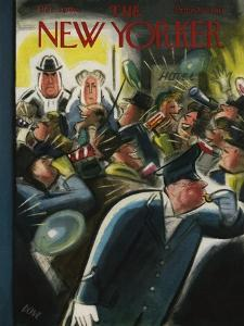 The New Yorker Cover - December 31, 1955 by Leonard Dove