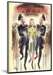 The New Yorker Cover - January 10, 1942 by Leonard Dove