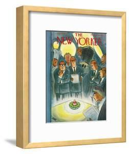 The New Yorker Cover - January 29, 1955 by Leonard Dove