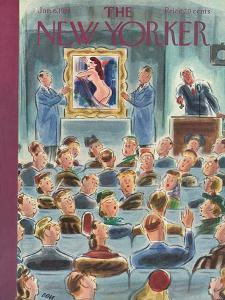 The New Yorker Cover - January 6, 1951 by Leonard Dove