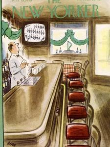 The New Yorker Cover - March 19, 1955 by Leonard Dove