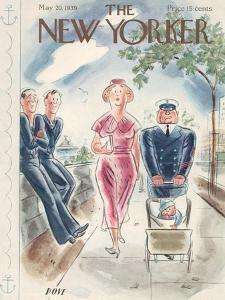 The New Yorker Cover - May 20, 1939 by Leonard Dove
