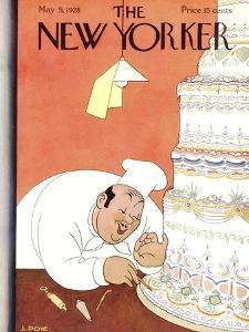 The New Yorker Cover - May 5, 1928 by Leonard Dove