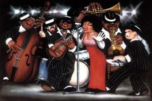 Lady Singing the Blues by Leonard Jones