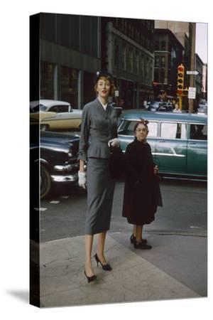 Advertising Copywriter Elizabeth Basset Burton, St Louis, Missouri, 1958
