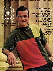 GQ Cover - February 1966 by Leonard Nones
