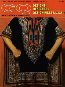 GQ Cover - February 1968 by Leonard Nones