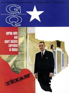 GQ Cover - March 1966 by Leonard Nones