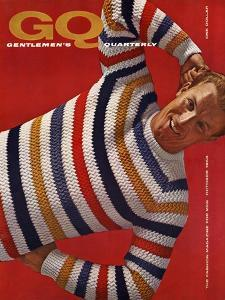 GQ Cover - October 1958 by Leonard Nones