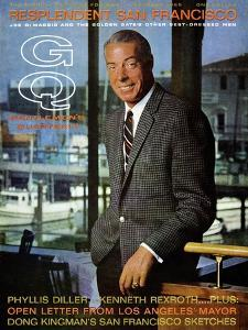 GQ Cover - October 1965 by Leonard Nones