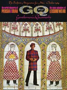 GQ Cover - October 1969 by Leonard Nones