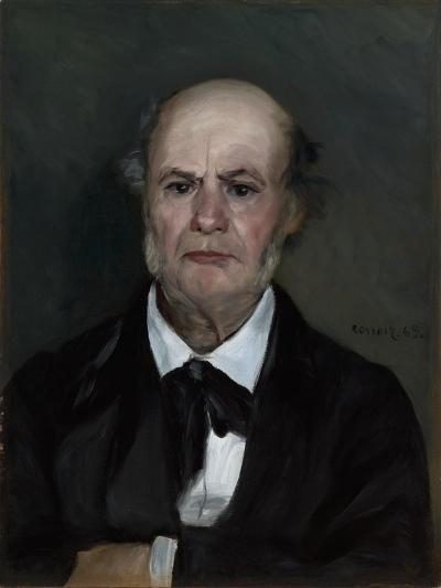 Léonard Renoir, the Artist's Father, 1869-Pierre-Auguste Renoir-Giclee Print