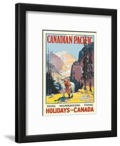 Holidays in Canada - Canadian Pacific by Leonard Richmond