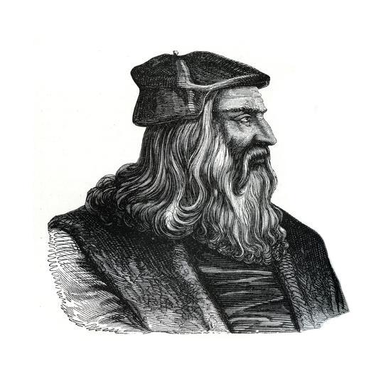 Leonardo Da Vinci, 16th Century--Giclee Print
