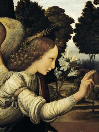 Announcing Angel, Detail from Annunciation, 1472-1475