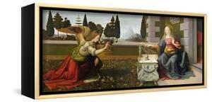Annunciation, 1472-75 by Leonardo da Vinci