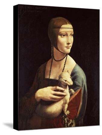 Cecilia Gallerani, Mistress of Ludovico Sforza, Portrait Known as Lady with the Ermine, c. 1490