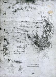 Coition of Hemisected Man and Woman, Facsimile Copy by Leonardo da Vinci