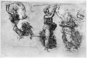 Dancing Women, Late 15th or Early 16th Century by Leonardo da Vinci