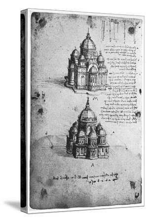 Designs for a Central Church, C1488-1490