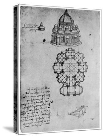 Designs for a Central Church, C1488