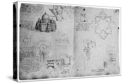 Designs for a Centralized Building, Late 15th or Early 16th Century