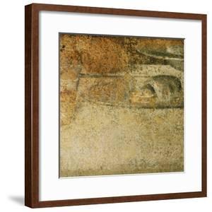 Detail from Leonardo's Last Supper: What Specialists Believed to be a Piece of Bread by Leonardo da Vinci